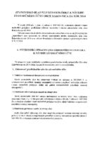 Stanovisko HKO k návrhu záverečného účtu obce Rakovnica za rok 2014