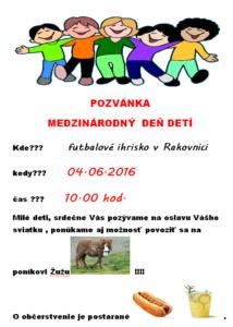 Pozvánka MDD