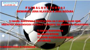 Futbalový turnaj  24.7.2016