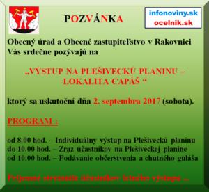 Výstup Plešivecká Planina 2.9.2017