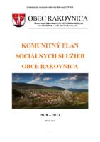 KOMUNITNÝ PLÁN SOCIÁLNYCH SLUŽIEB OBCE RAKOVNICA 2018 -2023